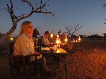 african bush dinner